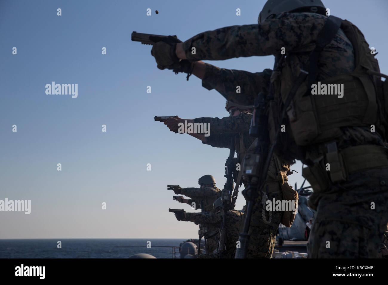 31st Marine Expeditionary Unit Stock Photo