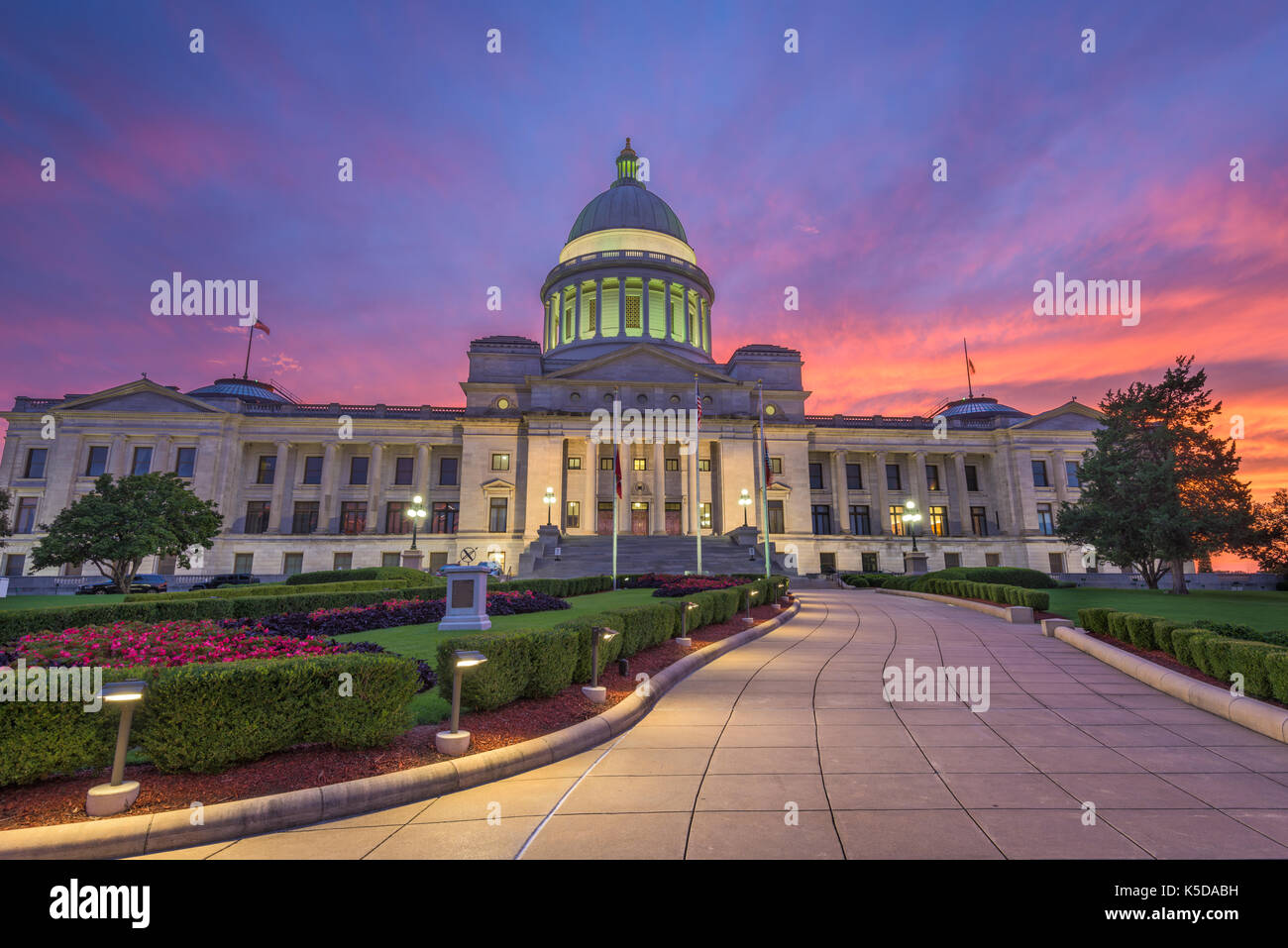 Arkansas state capitol dome stock photos arkansas state capitol little rock arkansas usa at the state capitol stock image malvernweather Gallery