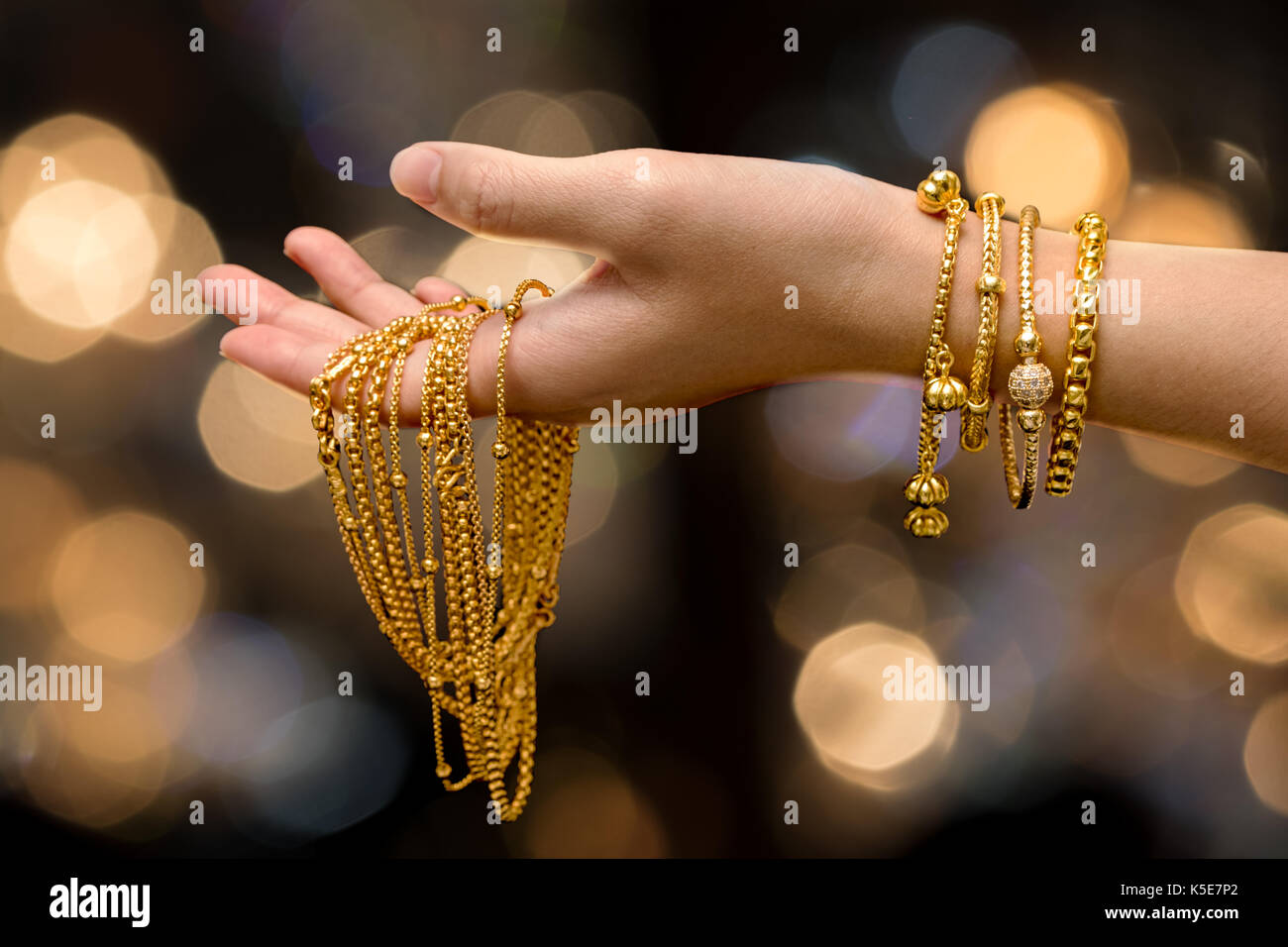 design velvet shiny show image for stock red gold free style jewelry royalty at woman photo bracelet thai tray shutterstock creative chains on