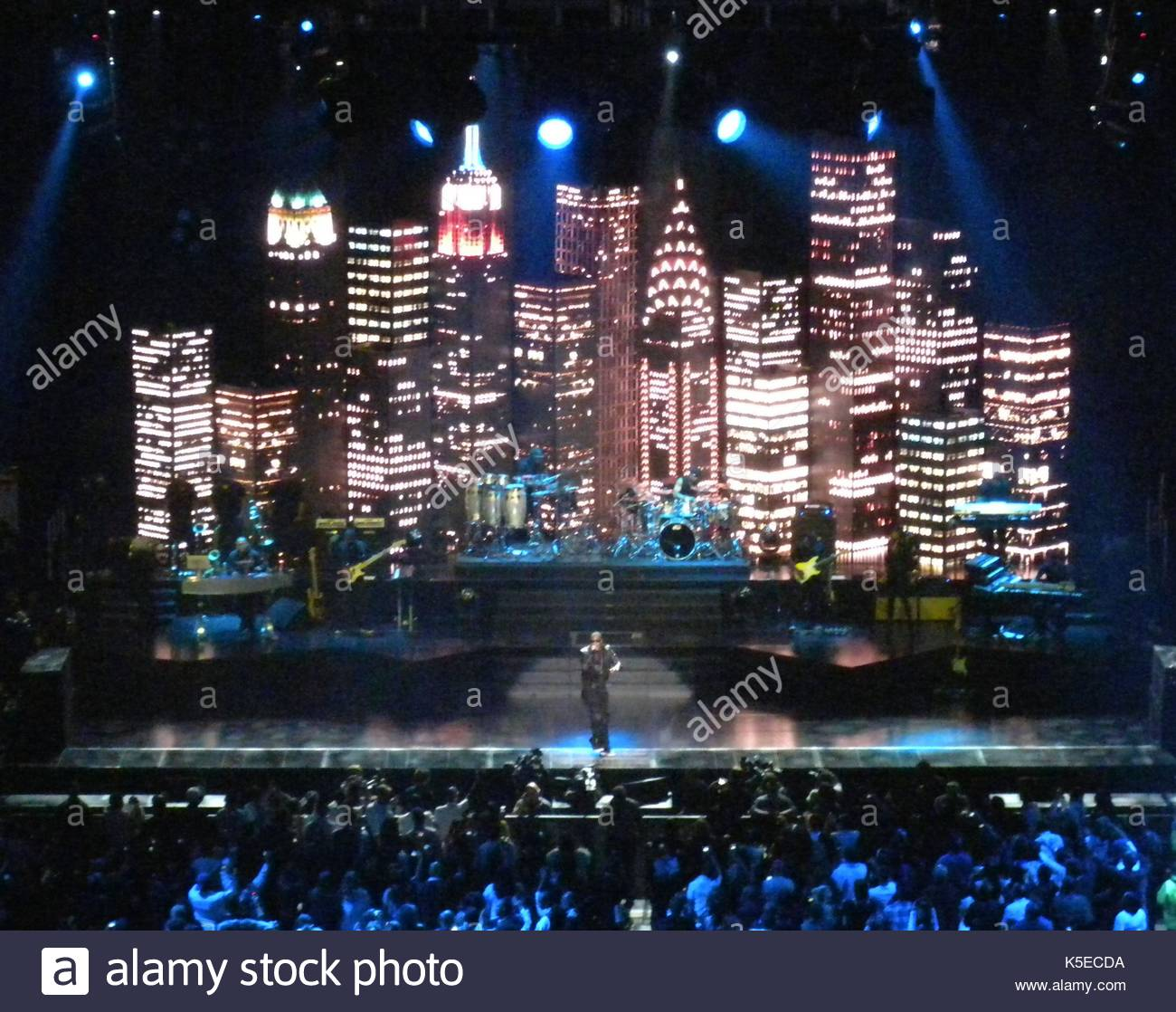 Jay Z Opening NYC Concert For 9 11 At Madison Square Garden. Bryant Park  Fashion Tents In New York City Brings Out More Celebrities Such As Damon  Dash And ...