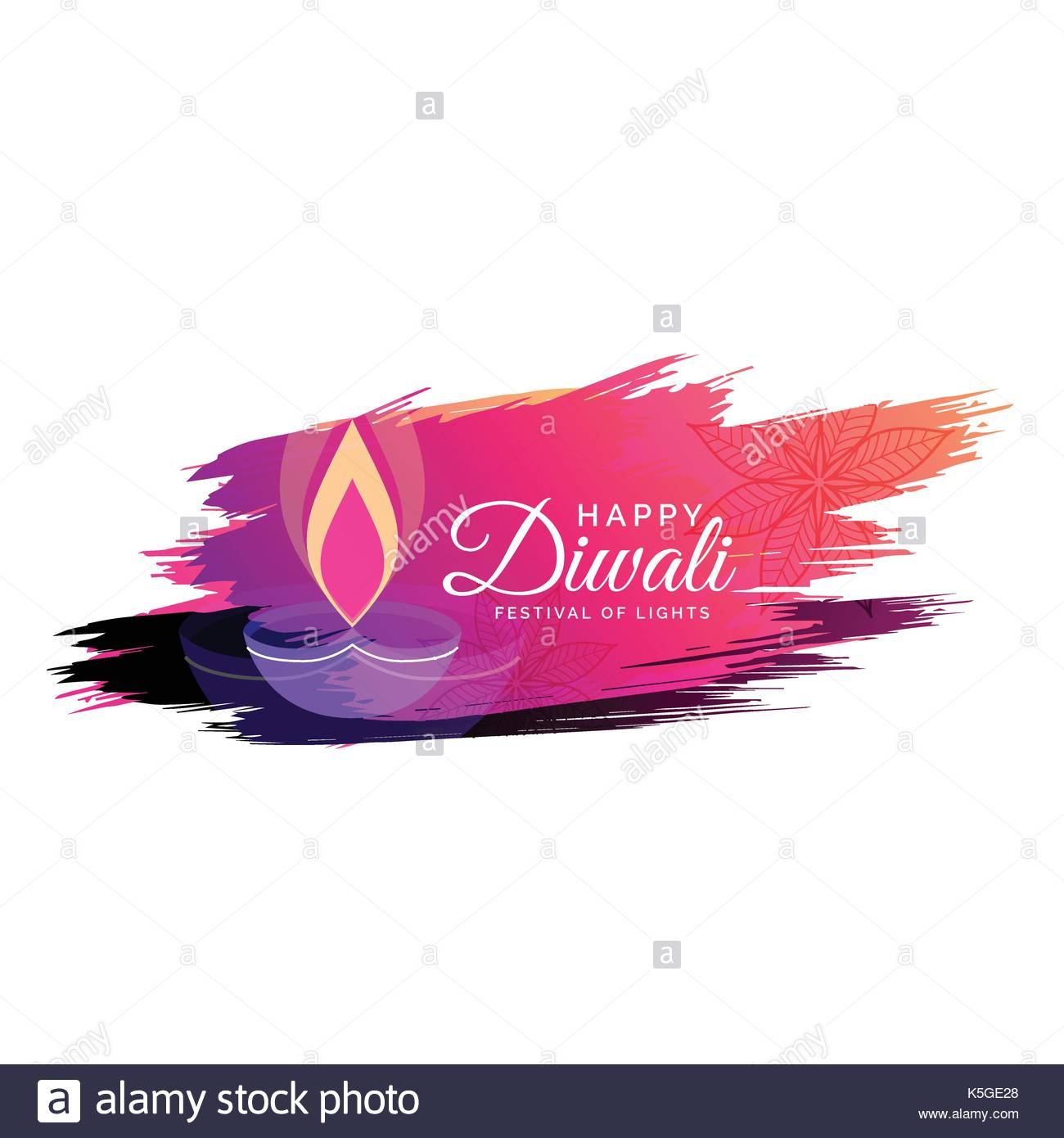 Creative watercolor diwali festival greeting card design with diya creative watercolor diwali festival greeting card design with diya illustration m4hsunfo