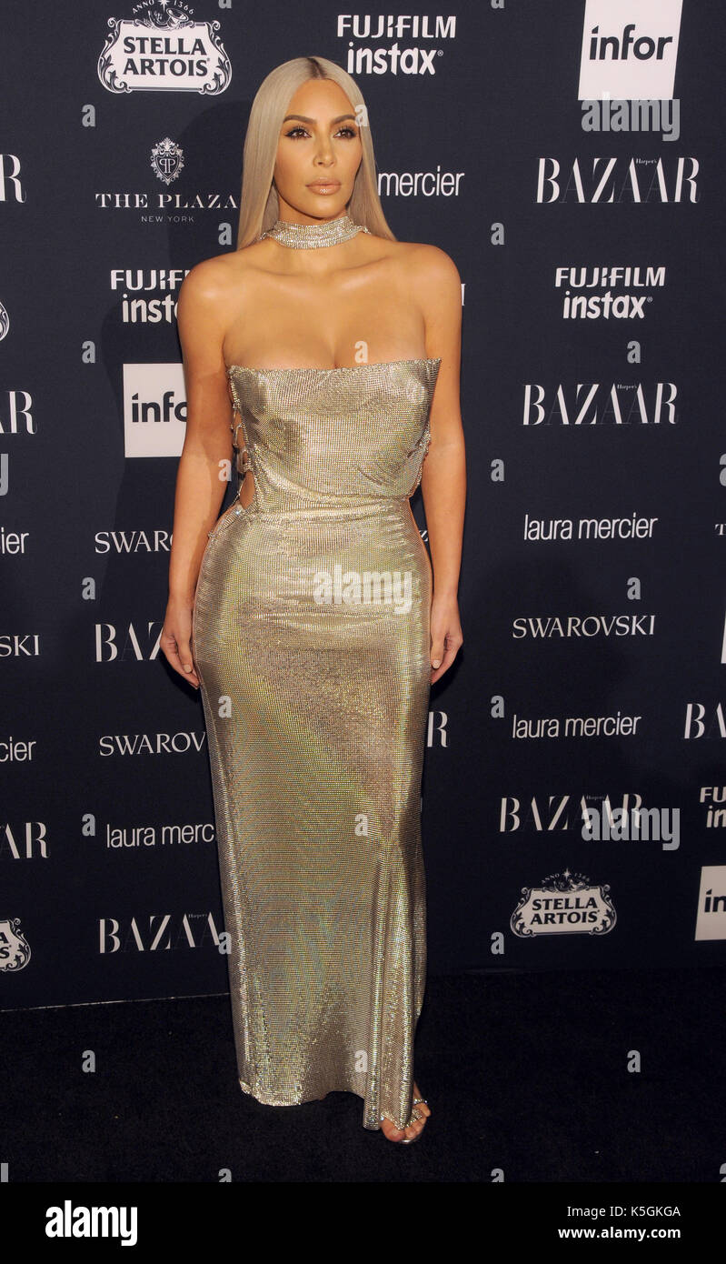 e06c9abcd924a Kim Kardashian West attend the 2017 Harper s BAZAAR Celebration of  ICONS  By Carine Roitfeld  at The Plaza Hotel on September 8