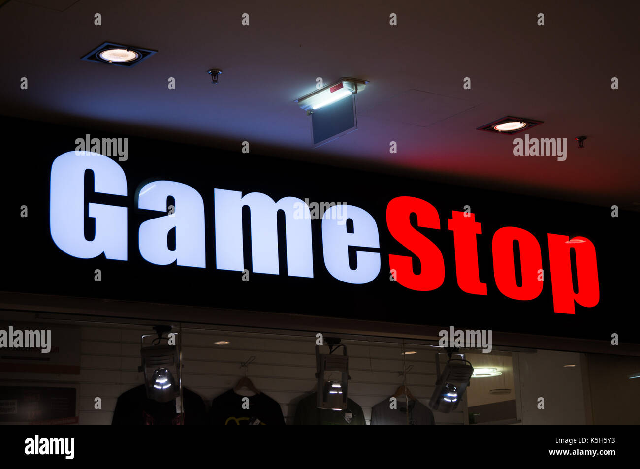 Gamestop Store Stock Photos Images