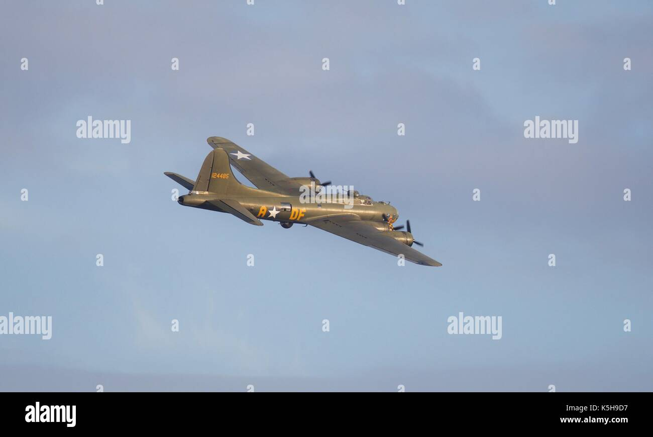 Boeing B-17G Flying Fortress - Sally B Stock Photo