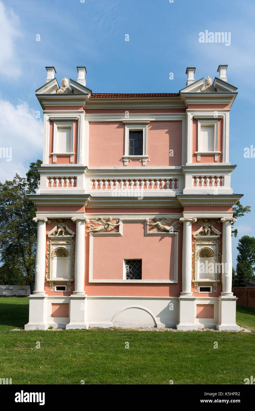 Domek Loretanski (Loreto House), Goląb, Poland - Stock Image
