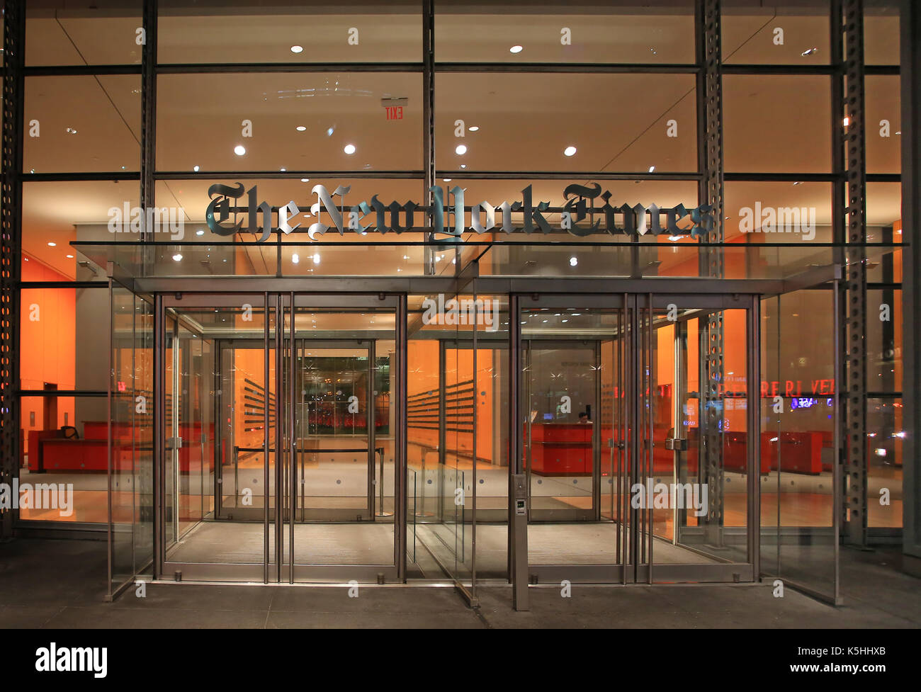 the new york time - Stock Image