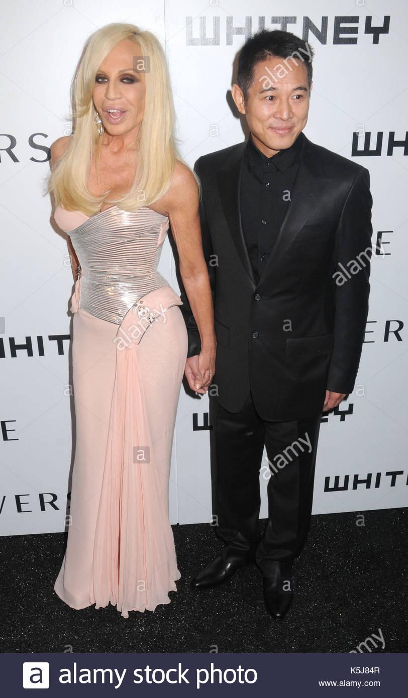 Donatella versace jet li dating