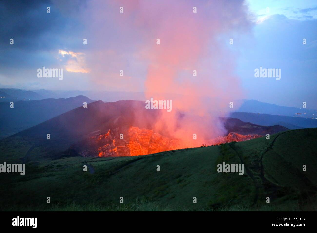 Fogo volcano caboverde - Stock Image