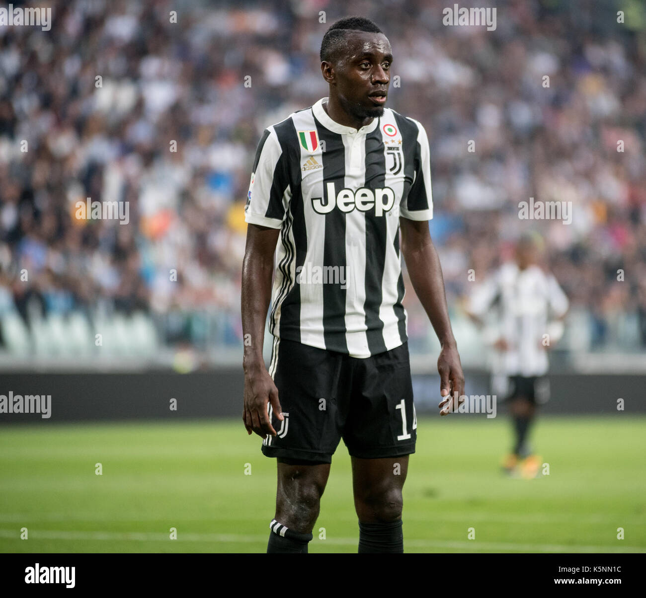 Turin, Italy 9th september, an football match. Juventus vs Chievo Verona, serie A tim at allianz Stadium - Stock Image