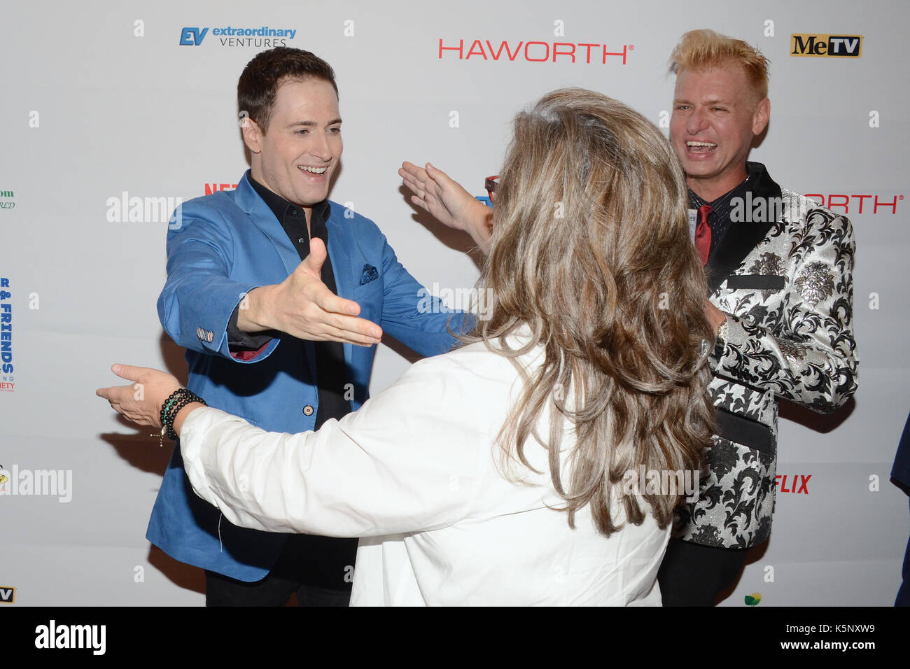 Randy Rainbow Rosie O'Donnell attends Ed Asner Friends Celebrity Poker Tournament Benefiting Autism Society Hayworth Stock Photo