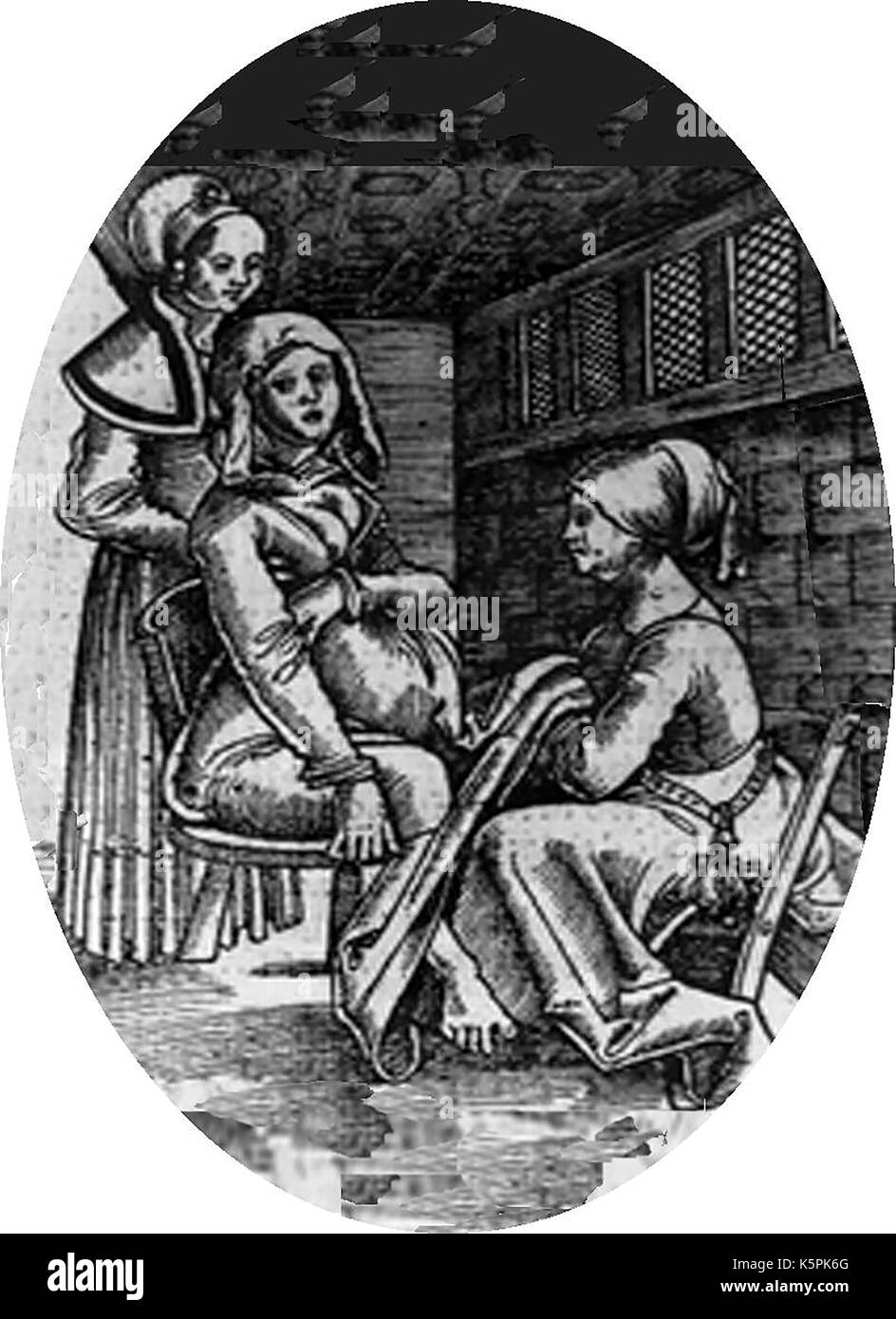 Midwifery In Medieval Times It Was Common For Women To Sit On A