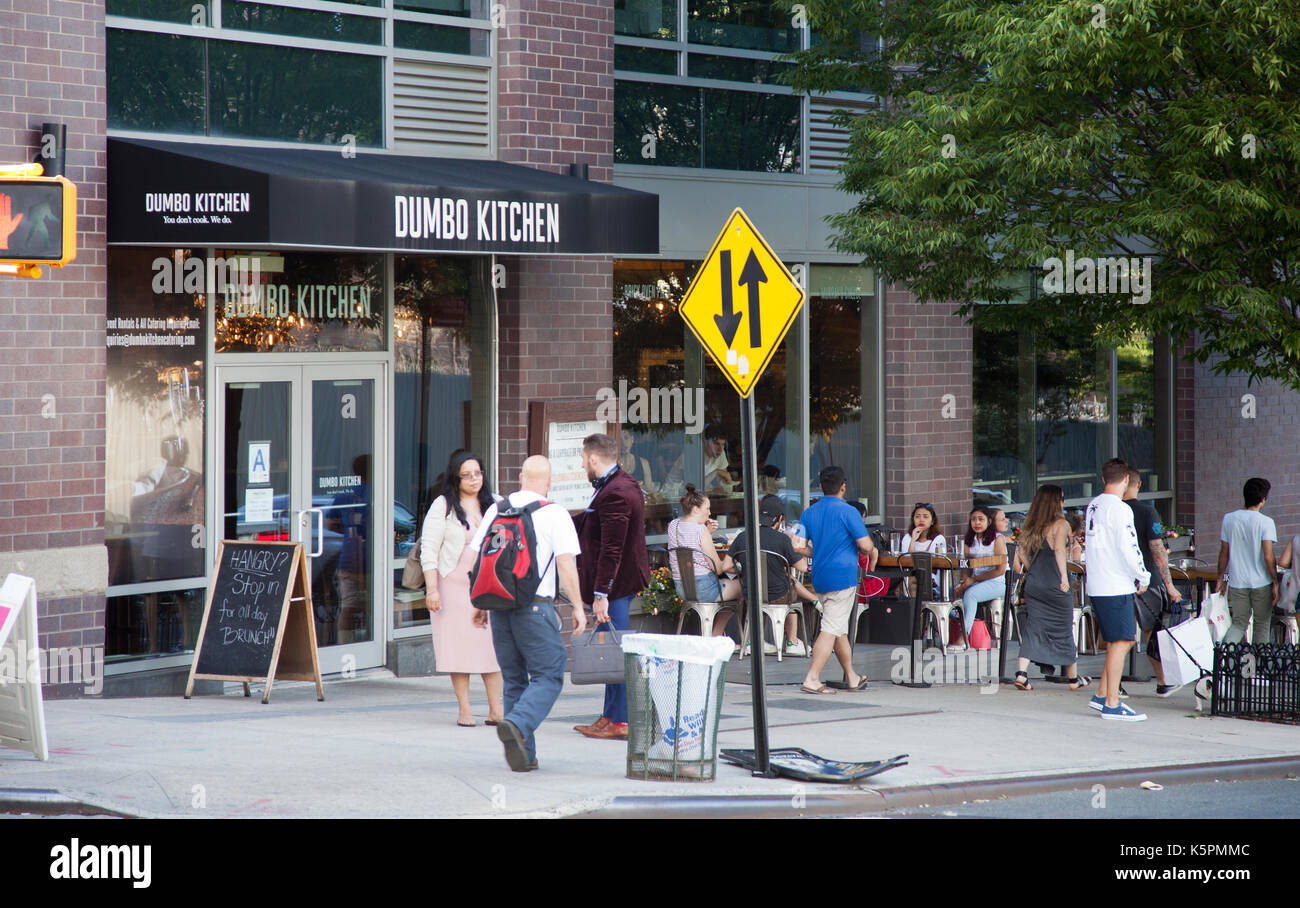Dumbo Kitchen In Dumbo Area Of Brooklyn In New York   USA   Stock Image