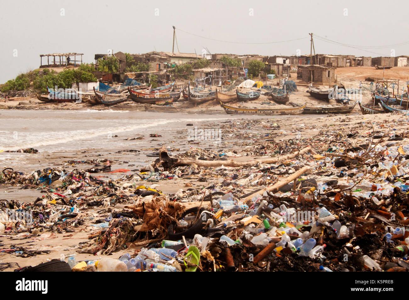 Teshie, Accra, Ghana - Stock Image