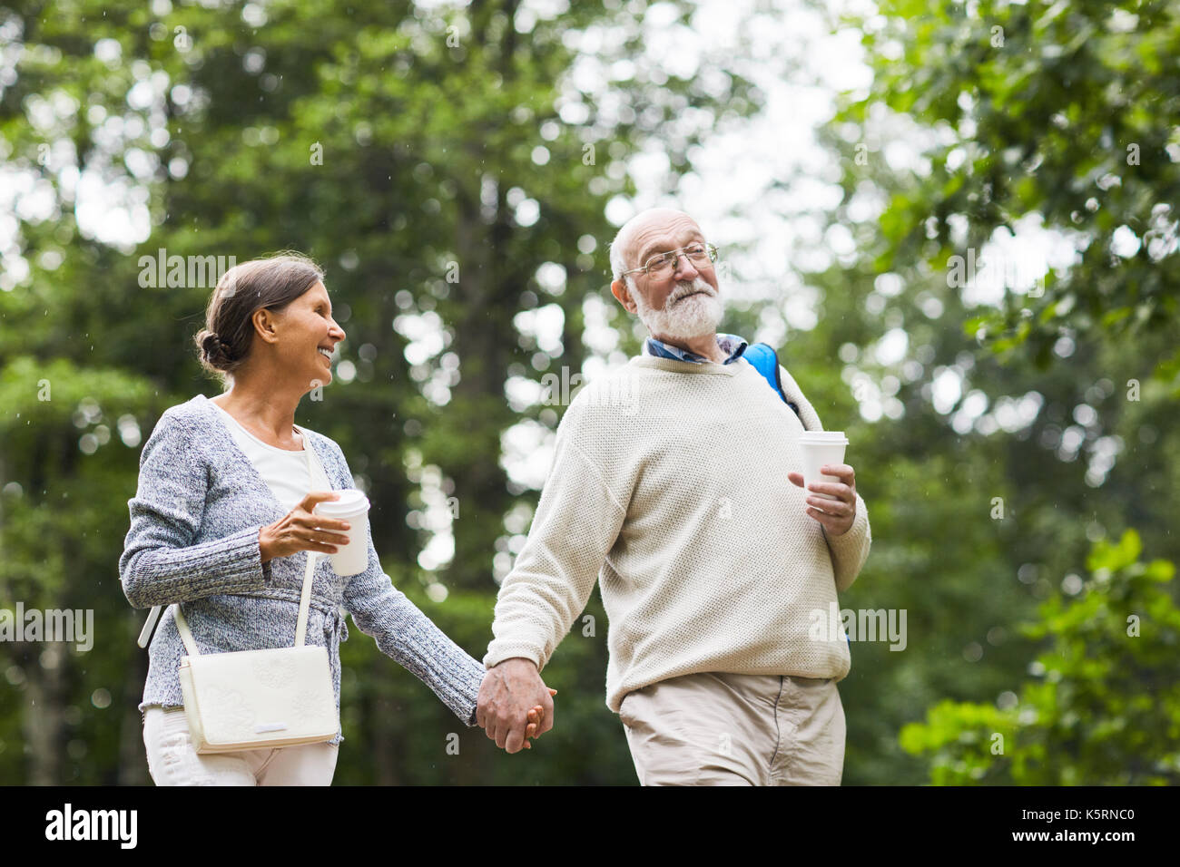 Walk in the park - Stock Image