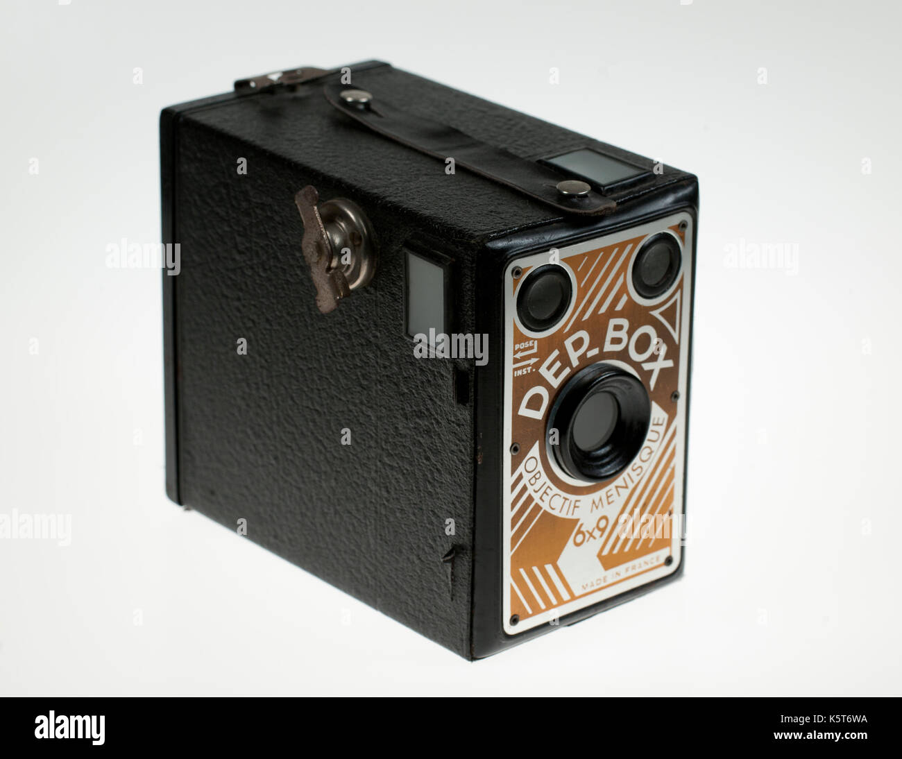 Mecaoptic DEP-Box Camera - Made in France - Stock Image