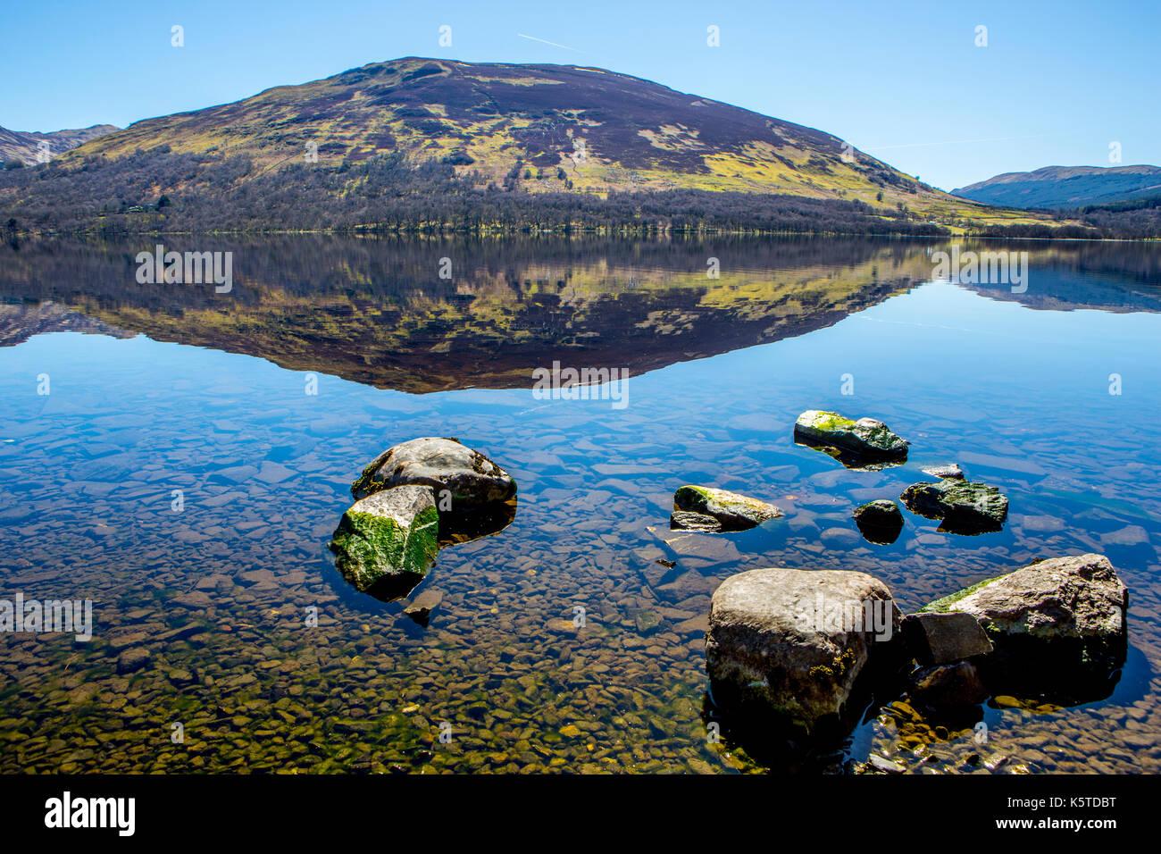 Loch Earn, Scotland - Stock Image