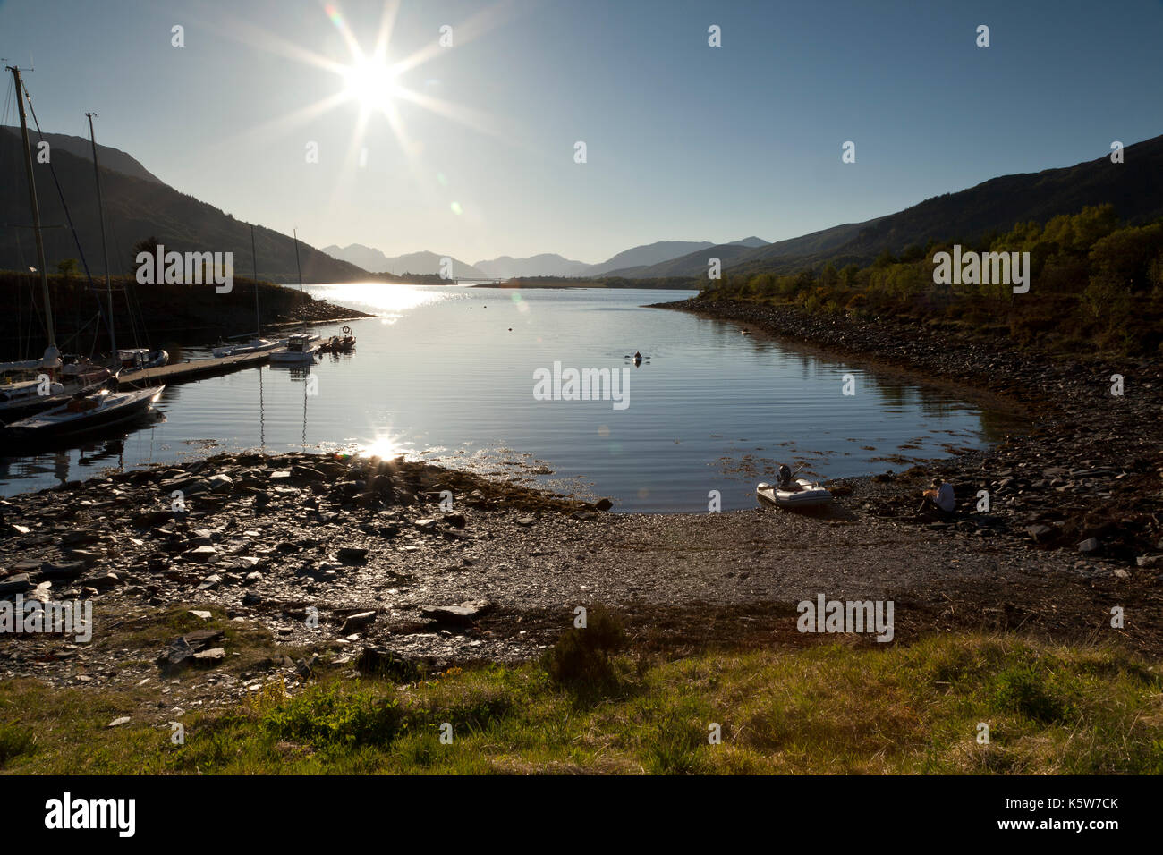 Loch Leven, Ballachulish, Glencoe, Scotland, UK - Stock Image