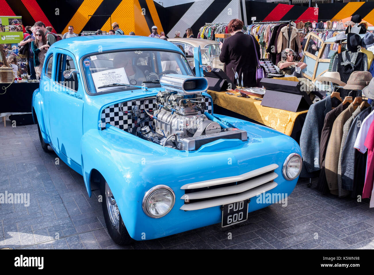 Classic Car Boot Sale Stock Photos & Classic Car Boot Sale Stock ...
