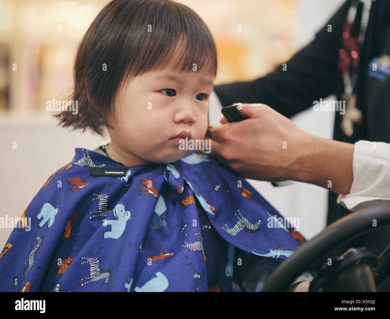 Baby Hair Cut Stock Photos Baby Hair Cut Stock Images Alamy