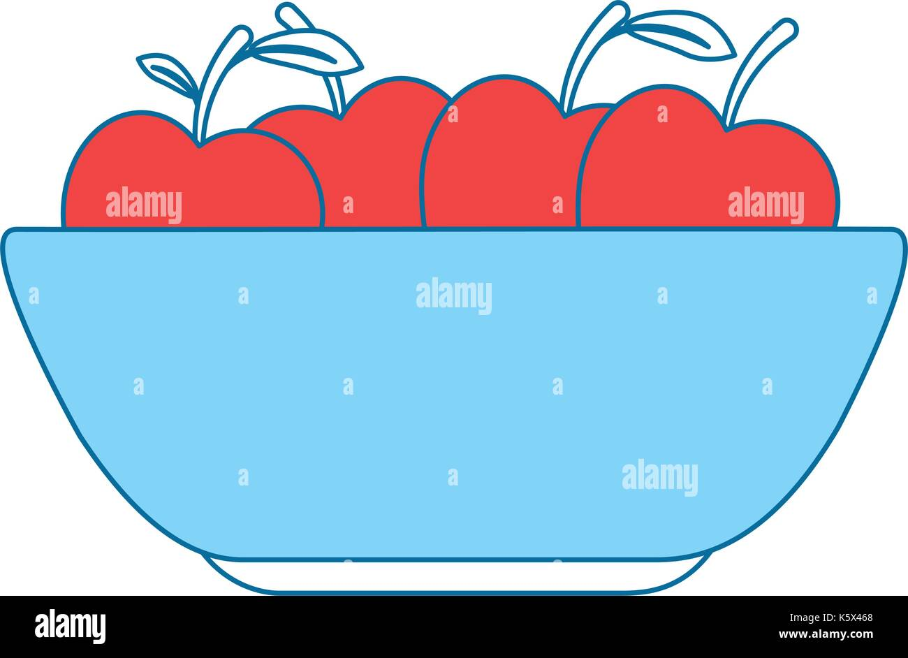Apples Stock Vector Images - Alamy