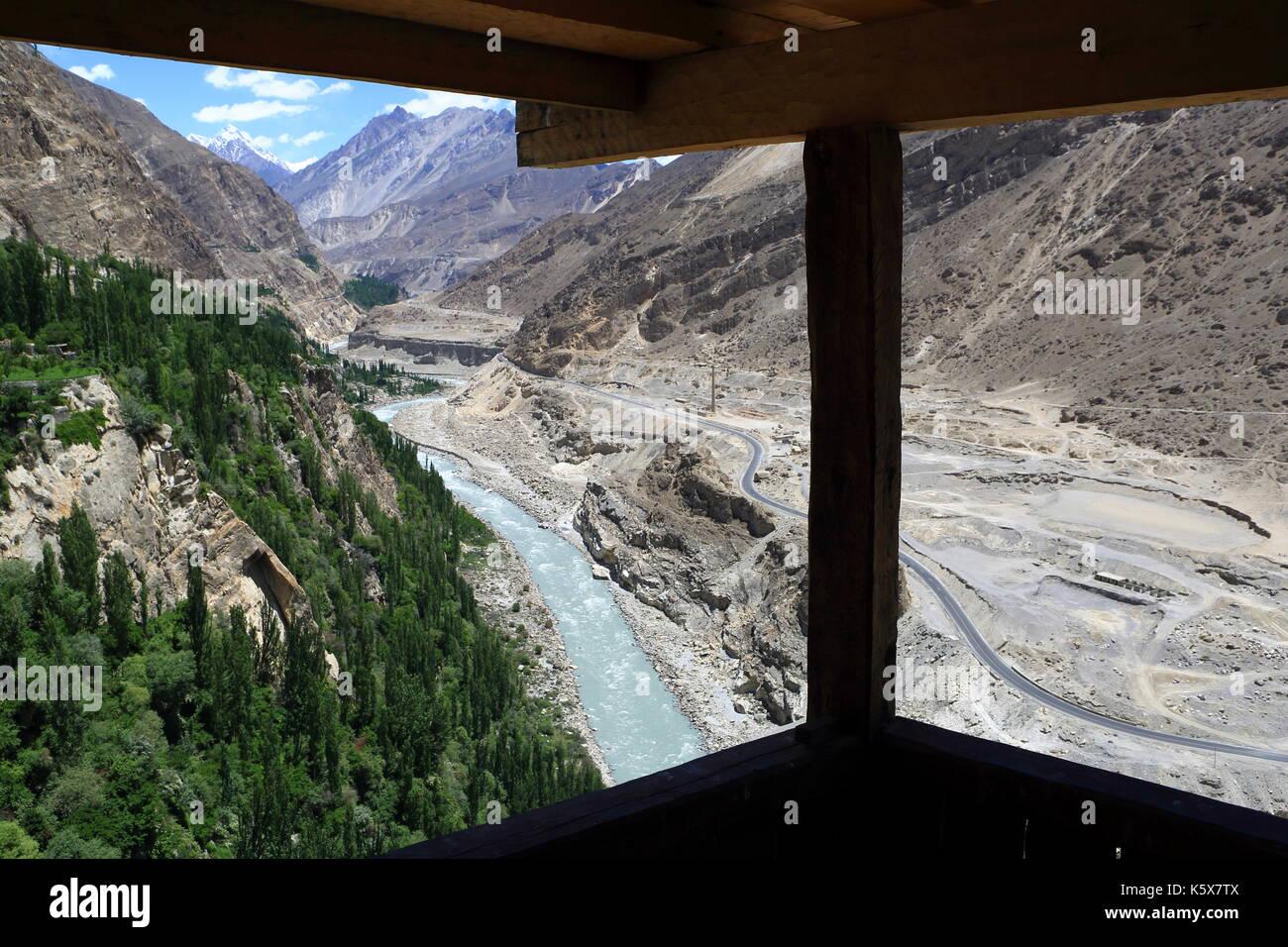 Silk Road, Pakistan Stock Photo