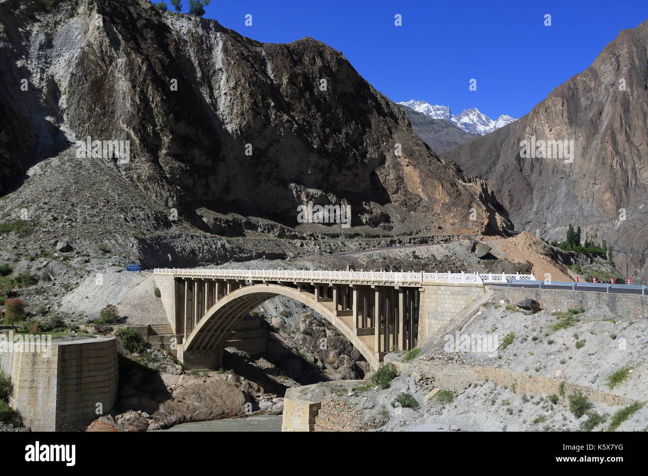Silk Road, Pakistan - Stock Image
