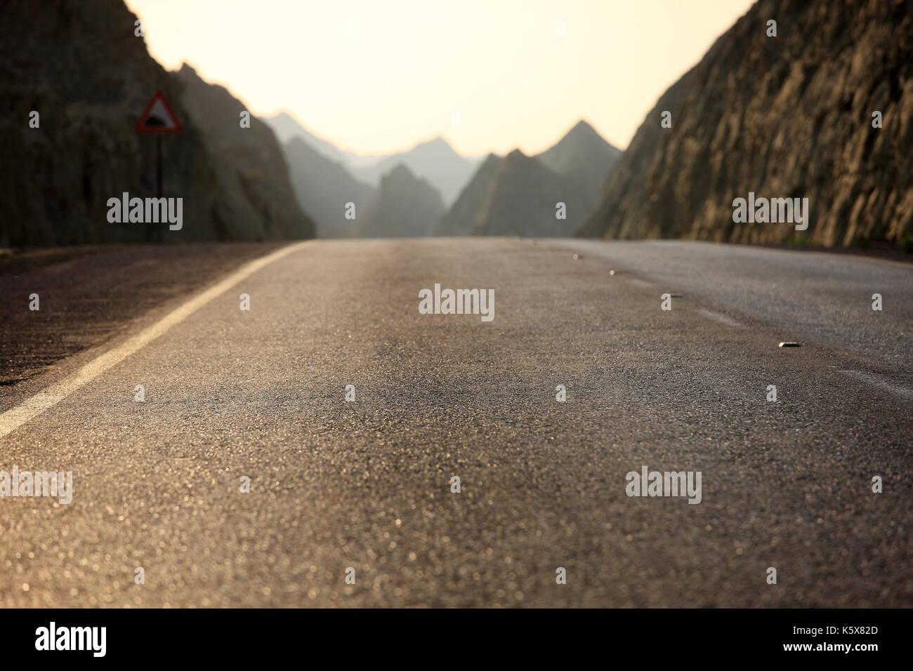 Busy Pass, Makran Coastal Highway, Baluchistan, Pakistan - Stock Image
