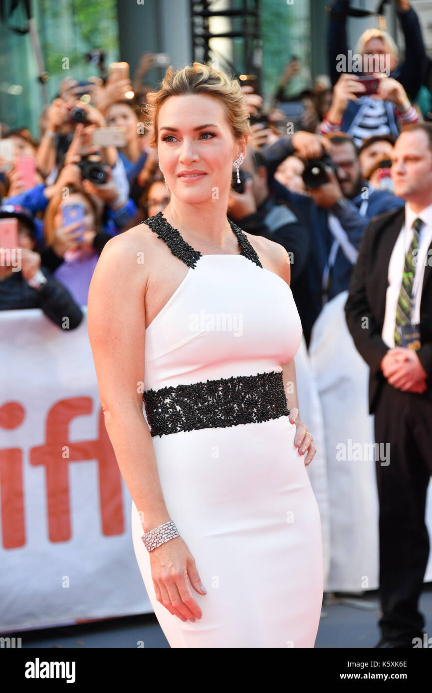 Toronto, Ontario, Canada. 10th Sep, 2017. Actress KATE WINSLET attends 'The Mountain Between Us' premiere during Stock Photo