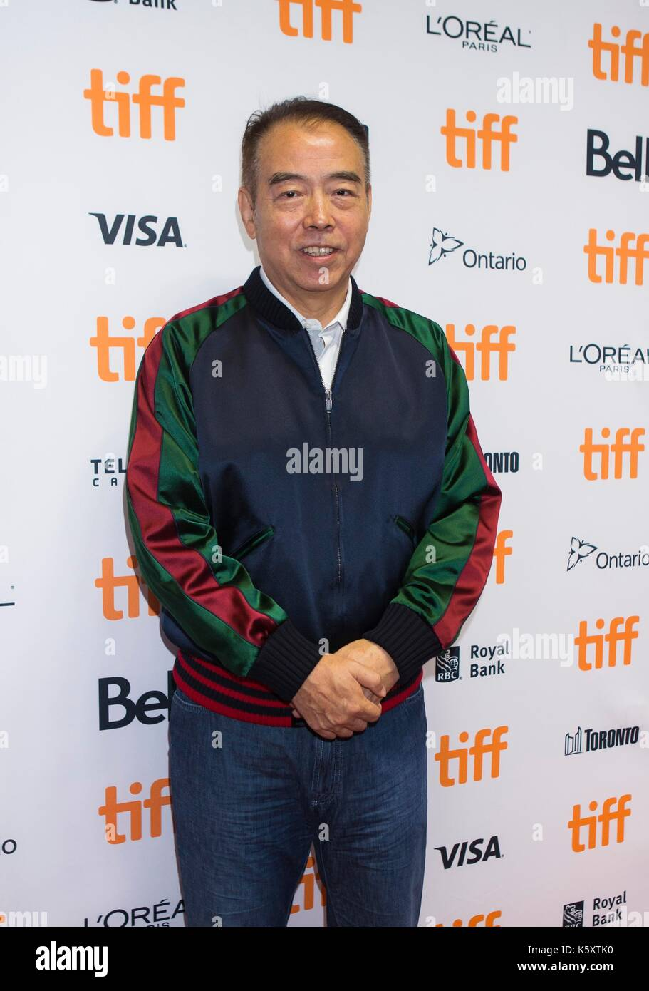"Toronto, Canada. 10th Sep, 2017. Director Chen Kaige attends the sneak peek of his new film ""Legend of the Demon Stock Photo"