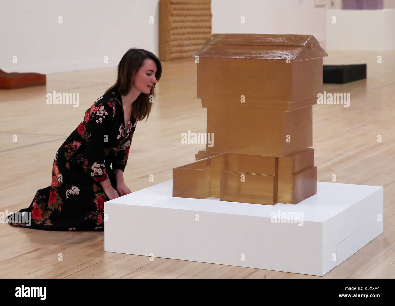 London, UK. 11th Sept, 2017. One of the leading artists of her generation the exhibition reveal the extraordinary Stock Photo