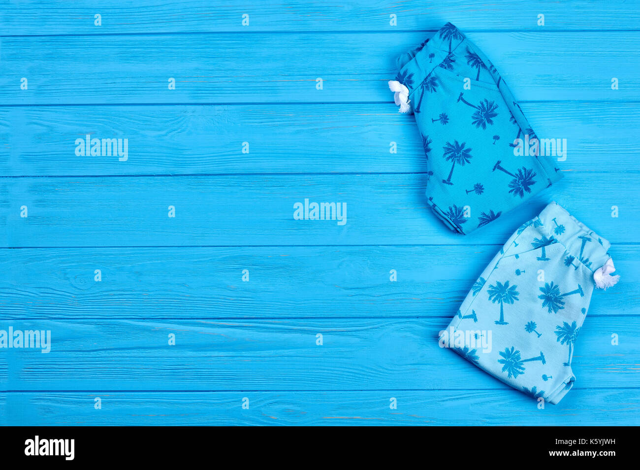 f6d272ef0366 Blue printed infant baby leggings. High quality organic baby pants and copy  space. Infant kids summer wardrobe.