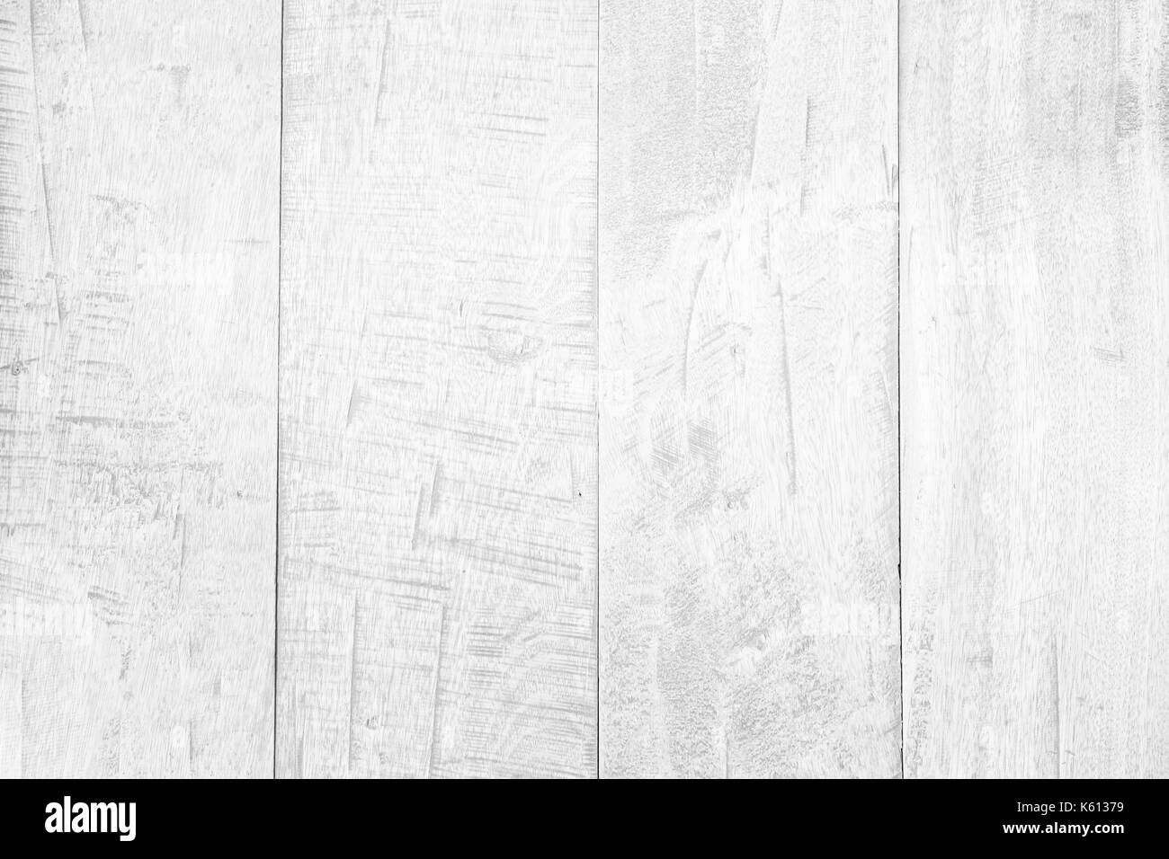 Abstract rustic surface white wood table texture background. Close up of rustic wall made of white wood table planks texture. Rustic white wood table  - Stock Image