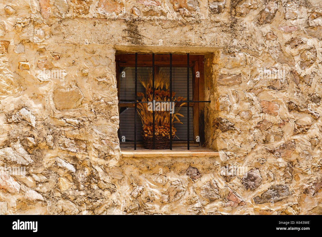 images from the city of Valldemossa in Palma de Mallorca. Spain (28-08-2017) Stock Photo