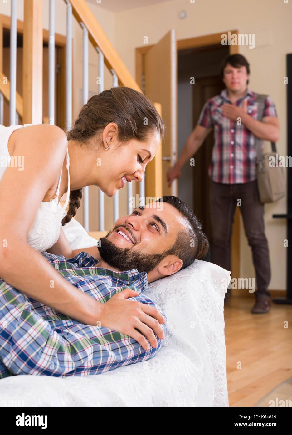 Flirting with friend wife My wife