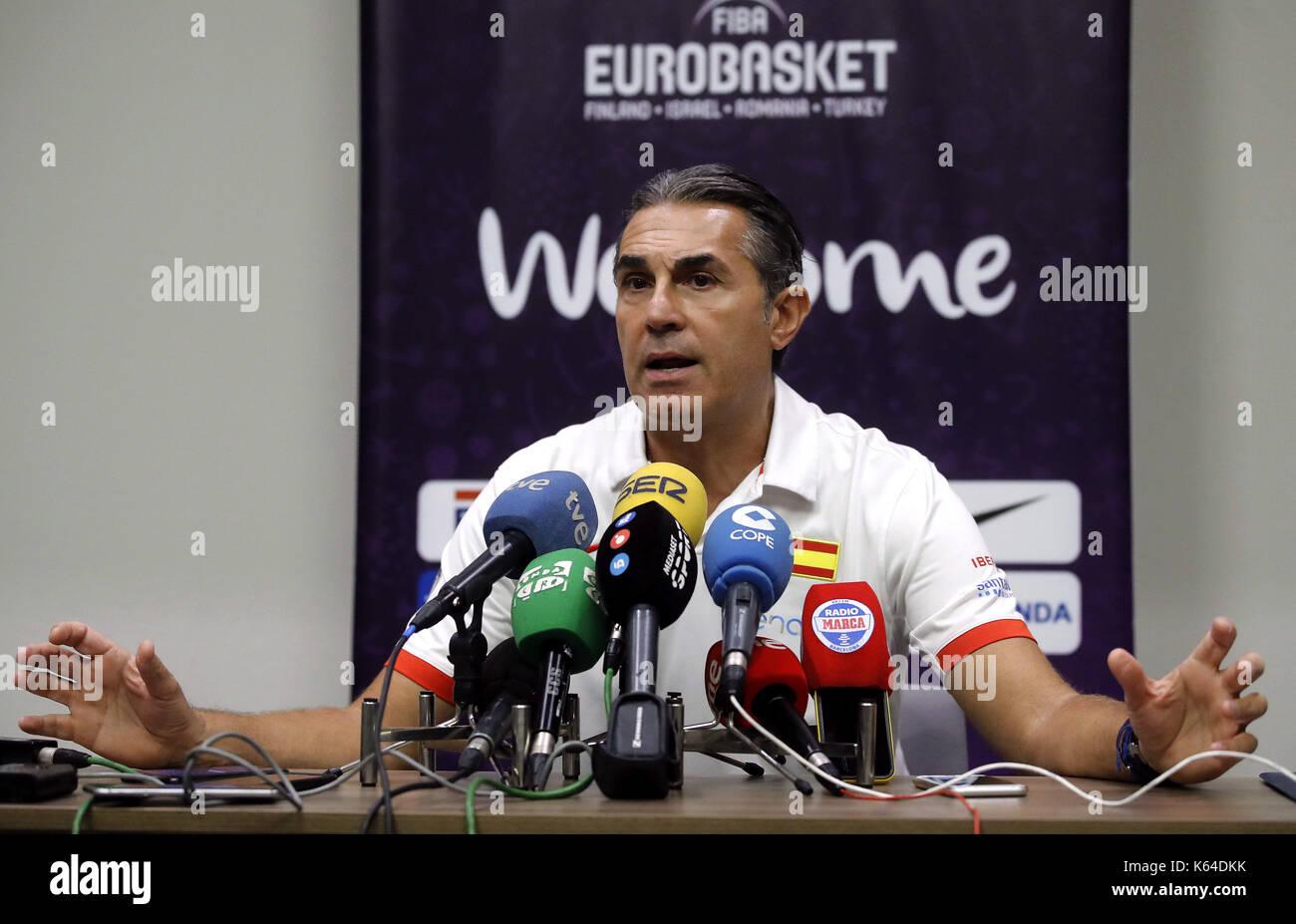 Spanish National basketball team head coach, Italian Sergio