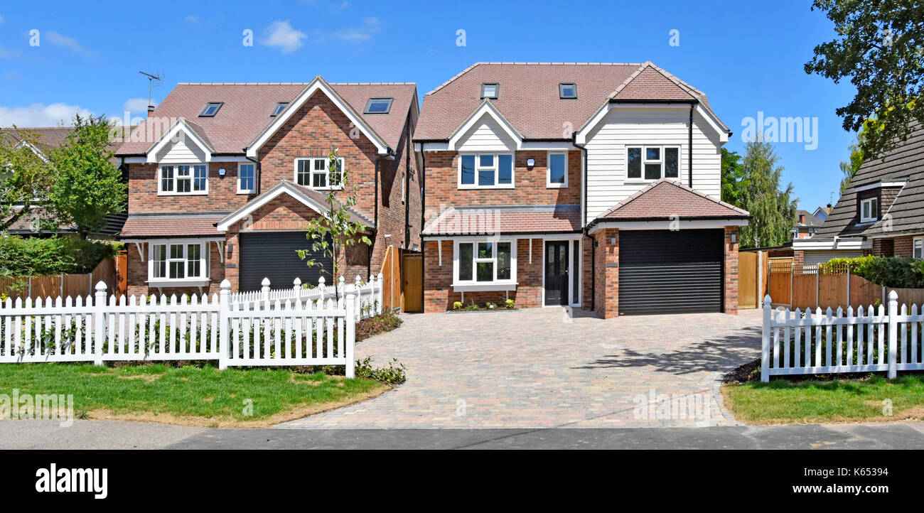 New build house uk stock photos new build house uk stock for 5 bedroom new build homes