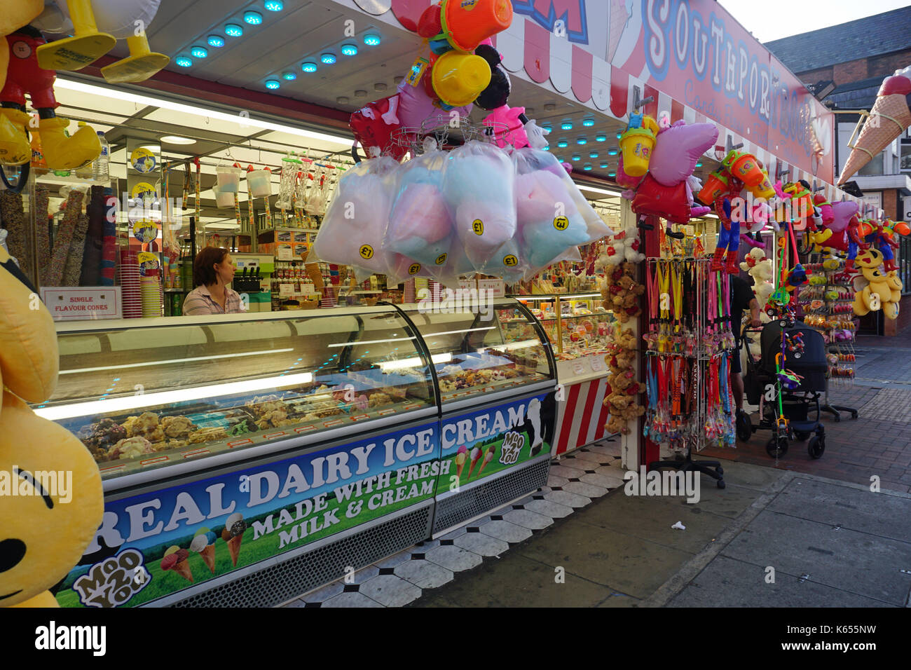 Seaside treats - Stock Image