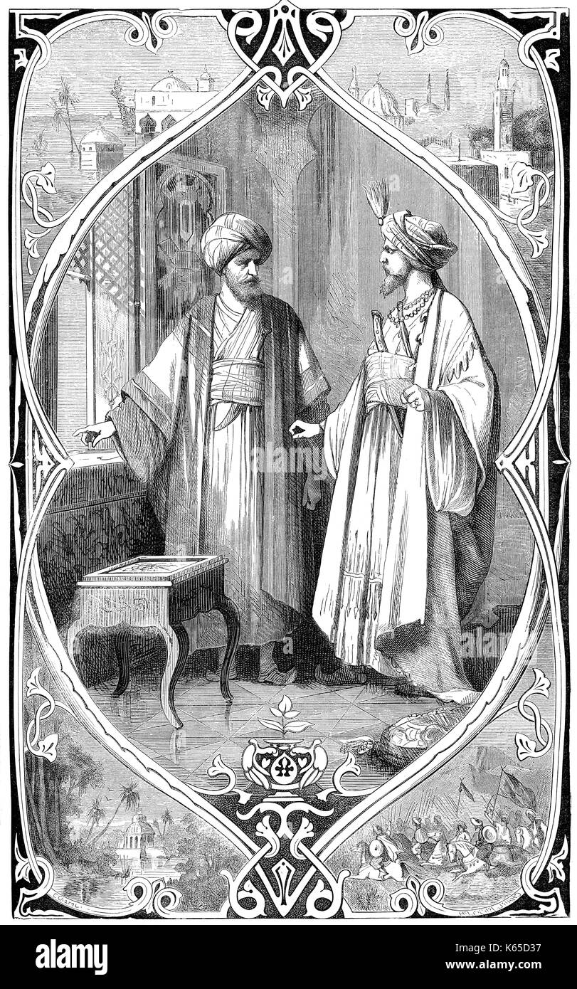 The Prophet Mohammed or Muhammad, c. 570 - 632, founder of the religion of Islam - Stock Image