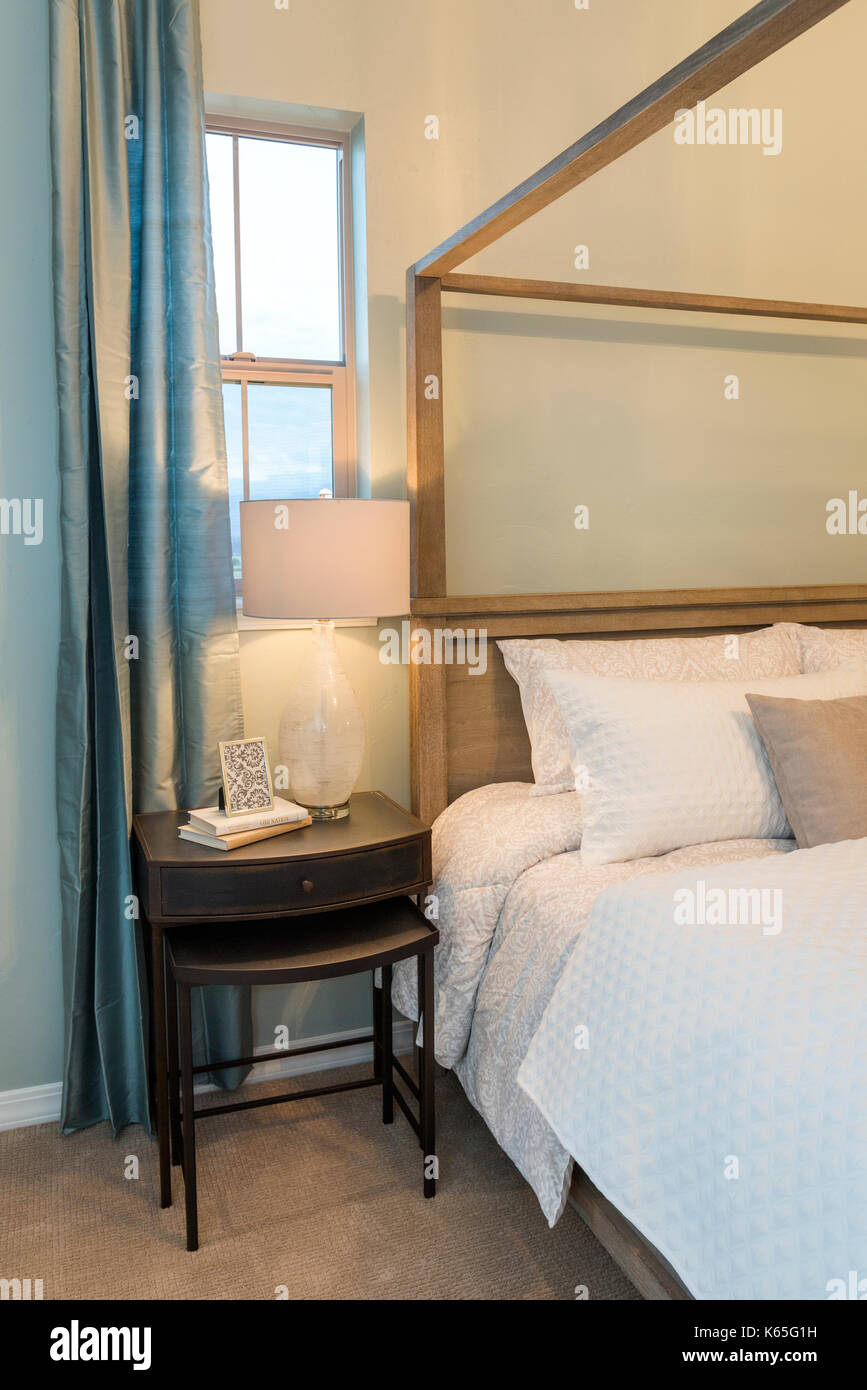 Farmhouse Night Stand Stock Photo Alamy