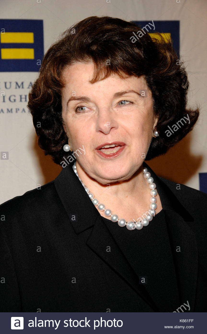from Weston senator dianne feinstein and gay rights