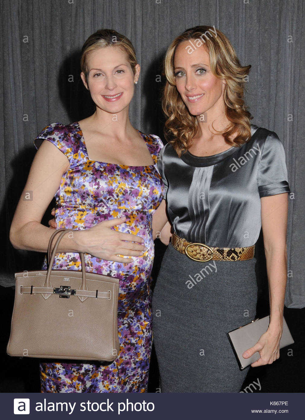 Kelly Rutherford and Kim Raver. Actors Kim Raver and Kelly Stock ...