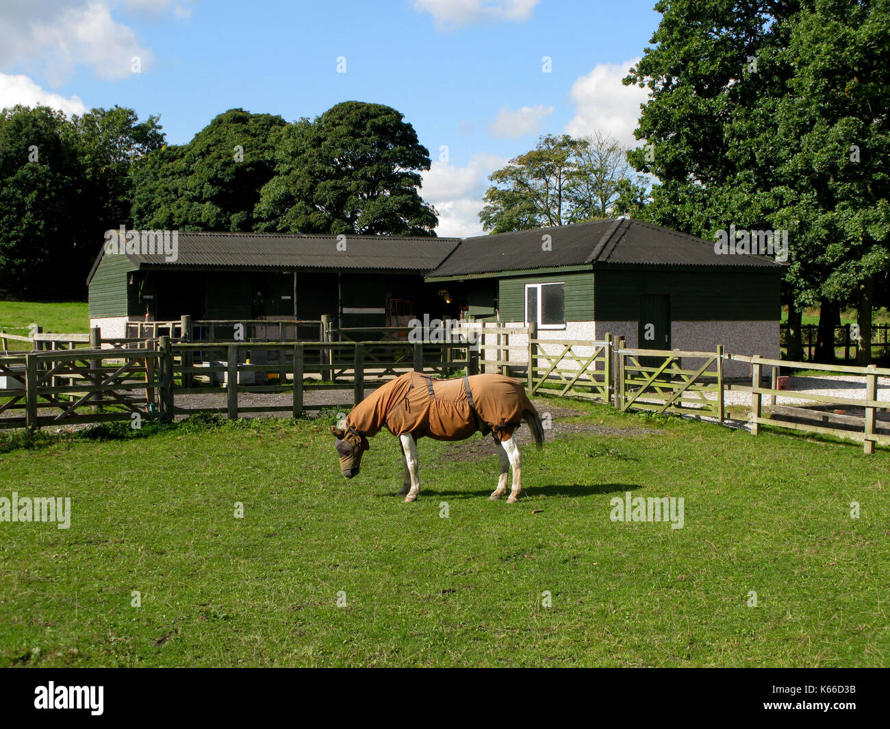 Small Stables High Resolution Stock Photography And Images Alamy