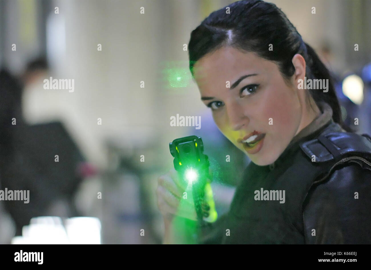 THE ANOMALY 2014 Universal Pictures film with Alexis Knapp - Stock Image