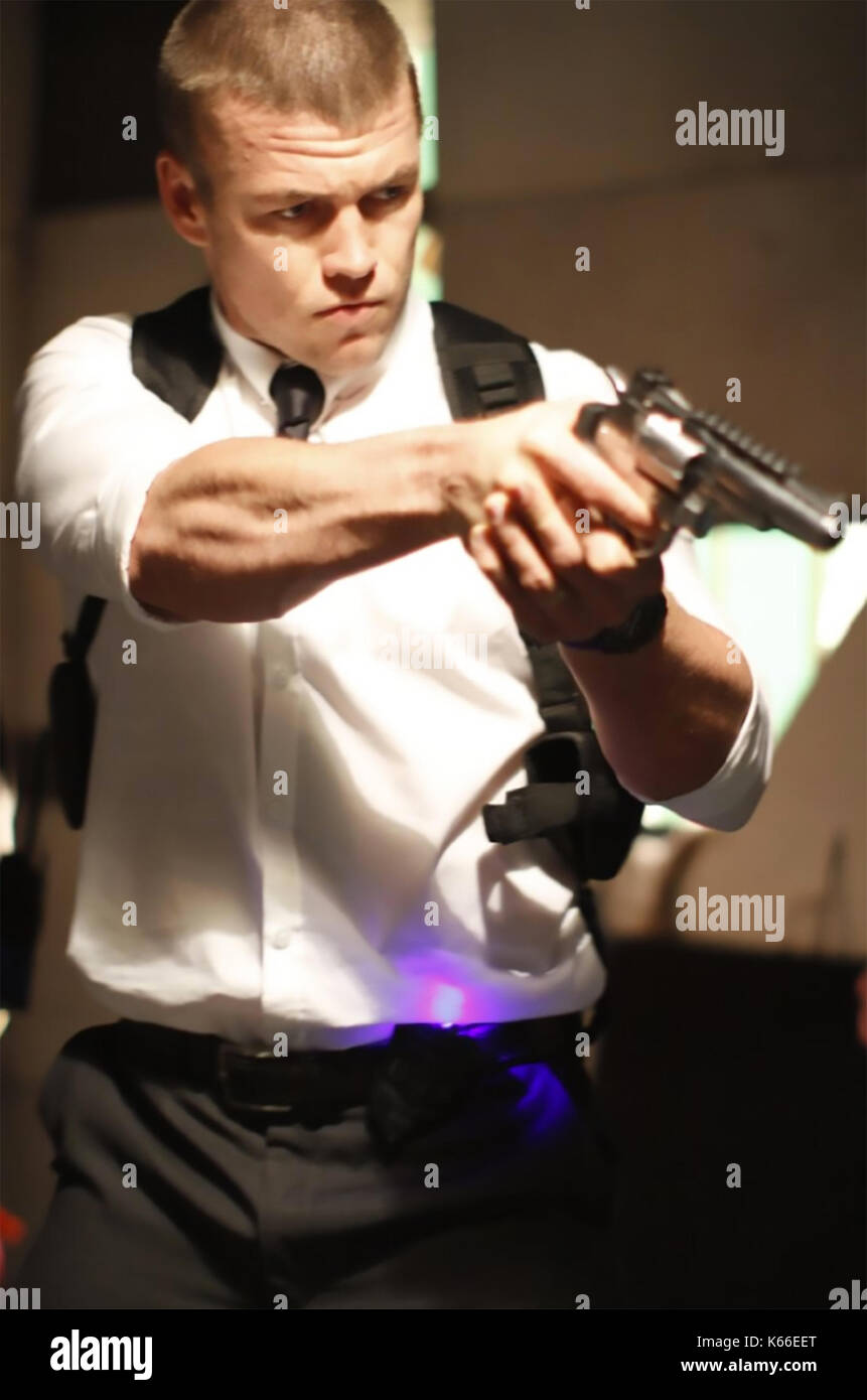 THE ANOMALY 2014 Universal Pictures film with Luke Hemsworth - Stock Image