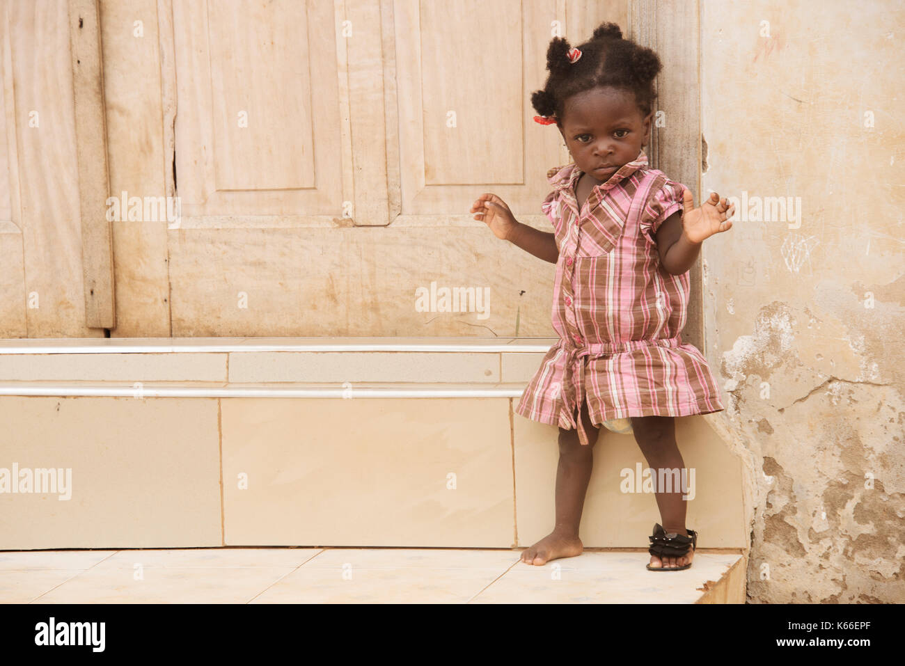 Sassy girl - Stock Image