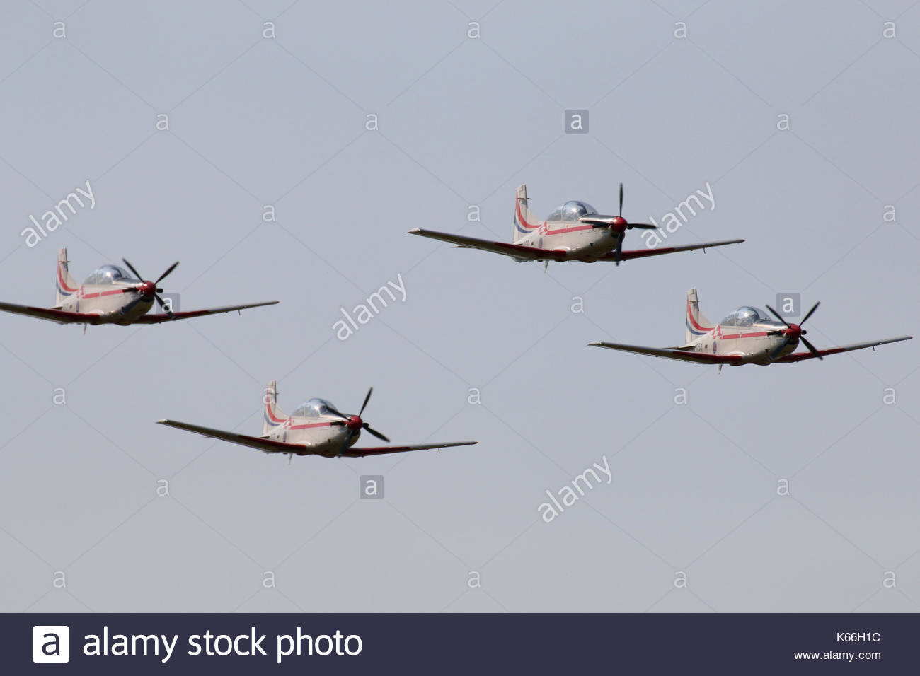 Wings of Storm - aerobatic team - air show Sisak Croatia - Stock Image