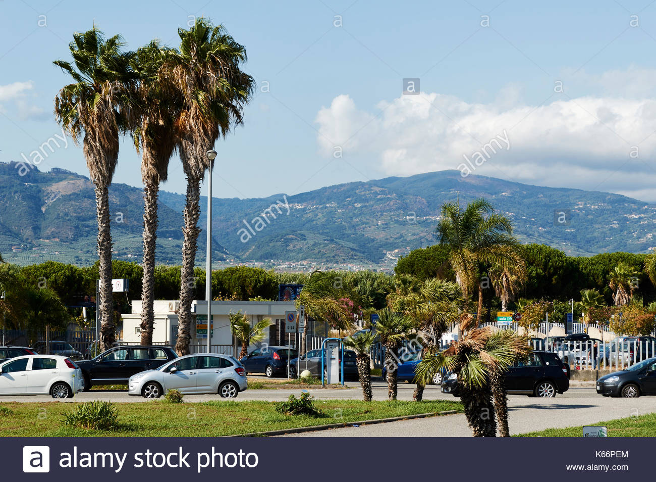 Lamezia Terme, Calabria, Italy - August 15, 2017: Lamezia ...