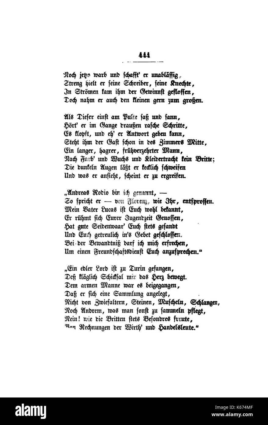 De Gedichte Uhland 462 Stock Photo 158738623 Alamy