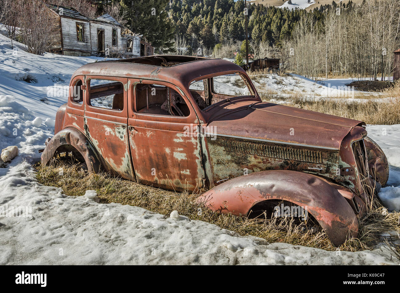 Four door vintage vehicle with suicide doors missing the outside handles and much more - Stock & Suicide Doors Stock Photos \u0026 Suicide Doors Stock Images - Alamy