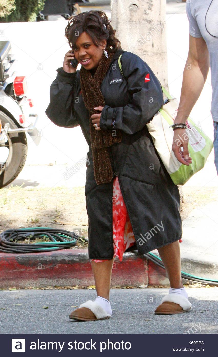 Chandra Wilson Greys Anatomy Filmed An Episode In Downtown Los